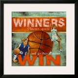 Winners: Basketball Art by Robert Downs