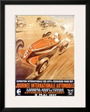 Journee Internationale Automobile Framed Giclee Print by Geo Ham