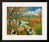 Vineyard in Spring, c.1906 Prints by Andre Derain