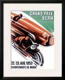 Bern Grand Prix, c.1953 Framed Giclee Print by Ernst Ruprecht