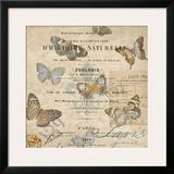 Papillon II Prints by Deborah Devellier