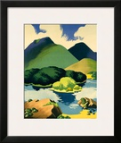 Ireland for Holidays, Killarney Framed Giclee Print by Clodagh Sparrow