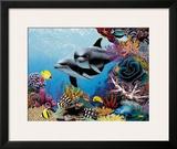 Hawaiian Treasures Framed Giclee Print by Mark Mackay