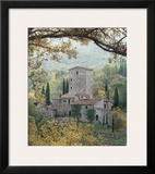 Tuscan Tower Prints by Rod Chase