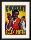 Chocolat Felix Potin Framed Giclee Print by  Mourgue