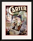 Carter the Great, The Vanishing Sacred Elephant Framed Giclee Print