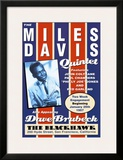 Miles Davis Quintet at the Blackhawk, San Francisco, California, 1957 Poster by Dennis Loren