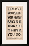 Trust Yourself Prints by N. Harbick