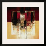 Composizione in Rosso Prints by Giuliano Censini