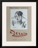 Expo BibIIothèque Nationale Posters by André Derain