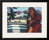 Teata Framed Giclee Print by Wade Koniakowsky