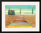 Beach Walk Prints by Robin Renee Hix