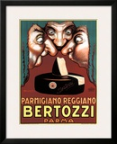 Bertozzi Parmigiano-Reggiano Framed Giclee Print by Achille Luciano Mauzan