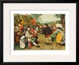 Peasants Dance Prints by Pieter Bruegel the Elder