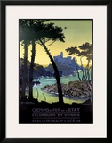 Vendee Framed Giclee Print by George Dorival