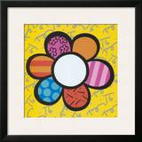Flower Power I Print by Romero Britto