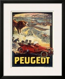 Peugeot Framed Giclee Print by Francisco Tamagno