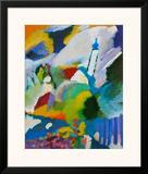 The Church in Murnau Prints by Wassily Kandinsky