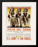 WWII, Aviation Cadet Training Framed Giclee Print