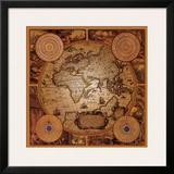 Antique Map, Cartographica I Art