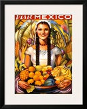 Visit Mexico, 1939 Framed Giclee Print