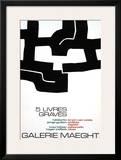 Cinq Livres Graves, 1974 Print by Eduardo Chillida