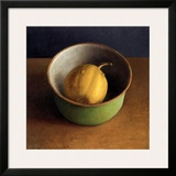 Green Bowl I Posters by  Van Riswick