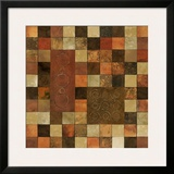 Checker Variation II Print by Norm Olson