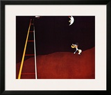 Dog Barking at the Moon Poster by Joan Miró