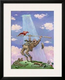 Breaking Par Framed Giclee Print by Gary Patterson