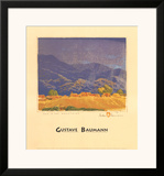 Rain in the Mountains Posters by Gustave Baumann