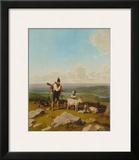 The Chamois-Hunter Art by Wilhelm Alexander Wolfgang Kobell