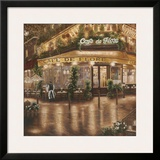 Café de Flore Print by Betsy Brown