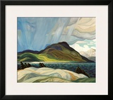 Lake Wabagishik Prints by Franklin Carmichael