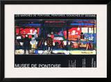 Musée De Pontoise Prints by André François