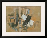 Gueridon, 1913 Prints by Georges Braque