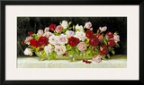 Classic Rose Bowl Print by E. Kruger