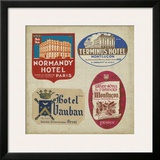 Vintage Travel Collage III Posters