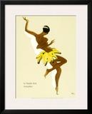 Josephine Baker, Black Thunder Framed Giclee Print
