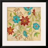Cottage Garden I Posters by Charlene Olson