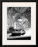 Film Noir, 7000 Clams Colt Framed Giclee Print by Richie Fahey