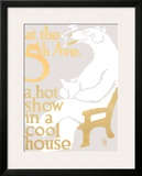 At the 5th Ave. Framed Giclee Print