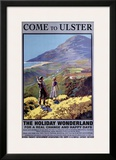 Come to Ulster, Ireland, 1936 Framed Giclee Print