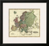 Europe, c.1823 Prints by Henry S. Tanner