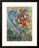 Les Amoureux en Gris, c.1960 Prints by Marc Chagall