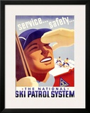 The National Ski Patrol System Framed Giclee Print