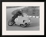 Moto Guzzi GP Dustbin Framed Giclee Print