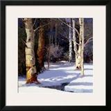 Beautiful Winter Art by Kent Wallis