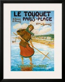 Le Touquet Framed Giclee Print by  Nyk