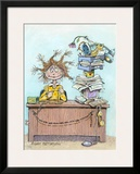 Got Coffee Framed Giclee Print by Gary Patterson